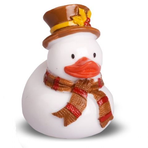 Snowman Christmas Duck Vanilla Lip Gloss - Mad Beauty